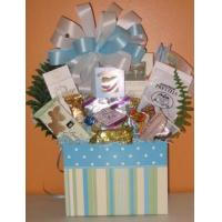 Buy cheap Bouncing Baby Boy Gift Basket from wholesalers