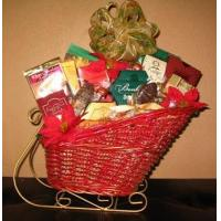 Quality Sleigh Ride Gift Basket for sale