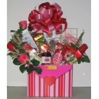 Quality Sealed With A Kiss Gift Basket for sale