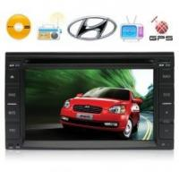 Quality Special Car DVD Player for Hyundai Support iPod + GPS for sale