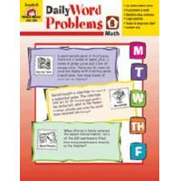 Quality Books DAILY WORD PROBLEMS GR. 6 for sale