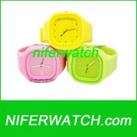 Quality Silicone Jelly Watch for sale