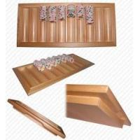 Quality Oak Black Jack Table Tray - Holds 500 Chips for sale