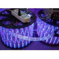 Quality RGB Color Changing Led Rope Light Flex 220V AC For Windows And Roofs for sale