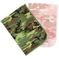 Buy cheap Personalized Camo Receiving Blanket from Wholesalers
