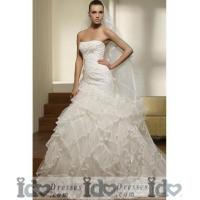 Buy cheap Elegant Sweetheart Court Bridal Gowns from Wholesalers