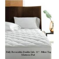 "Buy cheap Reversible Pillow Top Mattress Pad-Double Life! 800TC -22"" Deep Pocket from Wholesalers"