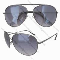 China S12058 spring temple aviator glasses on sale