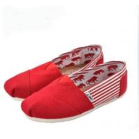 China Red Toms shoes on sale
