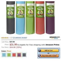 Quality Inexpensive eco friendly yoga mat for sale