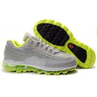 Quality Men Nike Air Max 24-7 Air Attack Pack Metallic Silver Green for sale