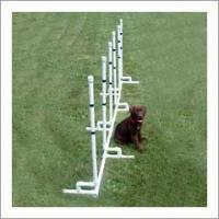 Buy cheap Dog Agility Channel Weave Poles from wholesalers