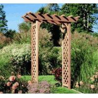 red cedar adjustable pergola arbor of outdoorfurnitureplus. Black Bedroom Furniture Sets. Home Design Ideas
