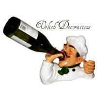 Buy cheap Chef Drinking Wine Bottle Holder from Wholesalers