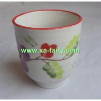 ceramic wine cup without handle