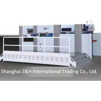 China Large-format hand-fed diecutting and creasing machine on sale