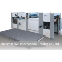 China automatic diecutting and creasing machines on sale