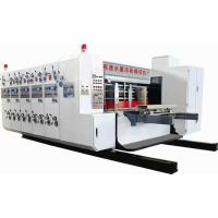Quality GSYM2610 Type four color high speed flexo printing slotting and rotary die cutting machine for sale