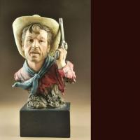 Buy cheap 820140 Cowboy holding gun decoration from wholesalers