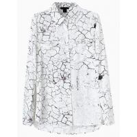 Buy cheap Vintage Fracturing Print Shirt from Wholesalers