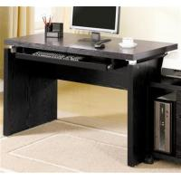 Quality Peel Computer Desk in Black Finish for sale