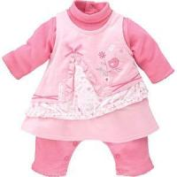 Quality Sucre D'Orge *Nika* Baby Girl Velour Dress Set for sale