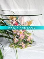 Artificial Crafts(970) Angel Series Tea Table Resin Crafts
