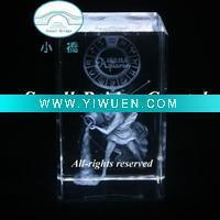 Quality Artificial Crafts(970) beautiful and newest 3d laser crystal crafts for sale