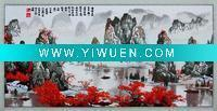 Quality Artificial Crafts(970) embroidery picture/decorative painting for sale