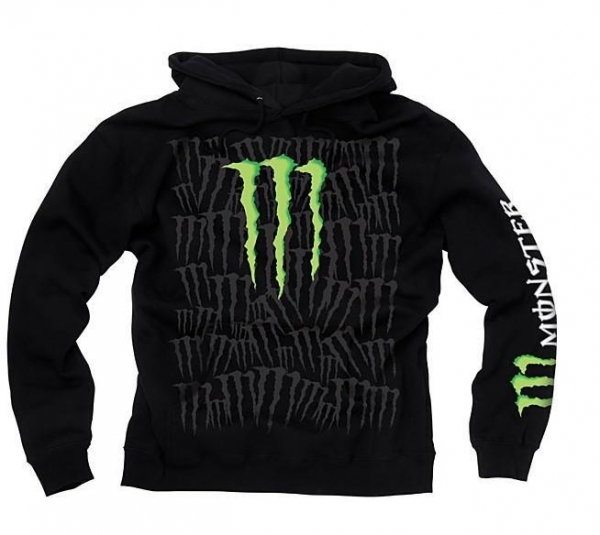 monster energy claw pullover hoodies for sale 16799500. Black Bedroom Furniture Sets. Home Design Ideas