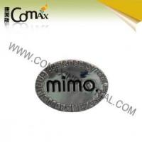 Quality Accessories for handbag and garment CMX-PU-047 Metal Fashion logo accessories for bag for sale