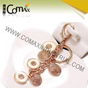 Buy Fancy keychains FK-0154 Traditional Coin Metal Fashion Fancy Keyrings at wholesale prices