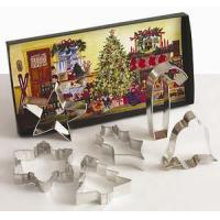 Quality Traditional Cookie Cutters Cookies for Christmas Gift Set for sale