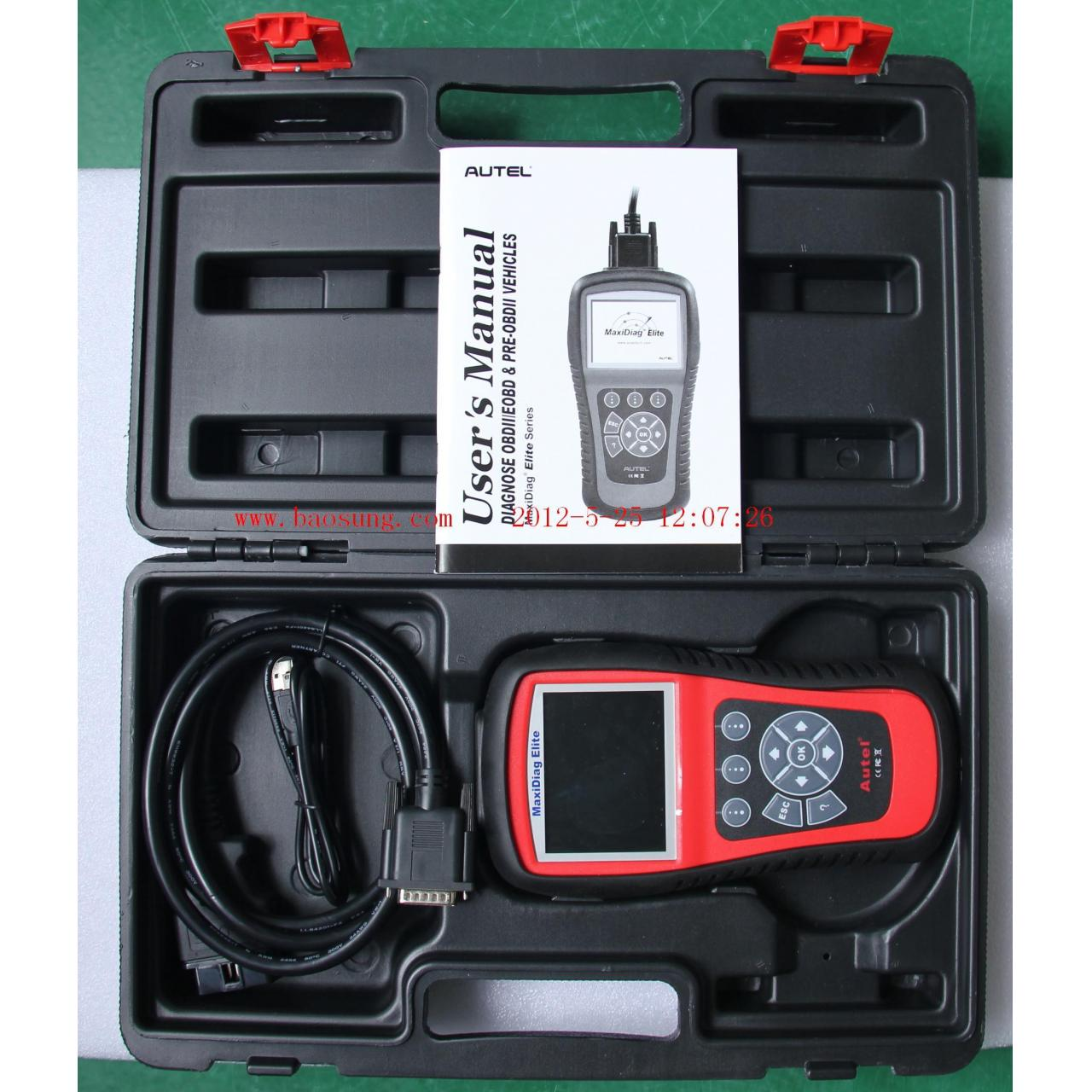 Comprehensive scan tool Maxidiag Elite MD802 ( ALL SYSTEMS )