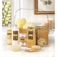 Buy cheap Vanilla Spa Basket from wholesalers
