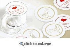 custom paper coasters no minimum Choose promotional drink coasters for your business  no minimum purchase  turn your custom drink coasters into advertisements by personalizing them with.