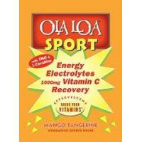 Quality Ola Loa SPORT Mango Tangerine Flavor All-Natural Hydrating Sports Drink Mix for sale