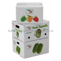 Quality Fruit Corrugated Packaging Carton Boxes for sale