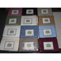 Buy cheap Bed Sheets Queen Embroidery Micro Sheet Sets Case Pack 12 from Wholesalers