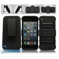 Quality Mobile Phone Combo Robot Case Belt Clip+Stand Holter Case for Apple iPhone 5 5G for sale