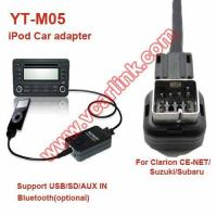 iPod Car Adapter YT-M05 Yatour iPod car audio kit for Clarion CE-NET/Suzuki/Subaru(YT-M05-CLAR)