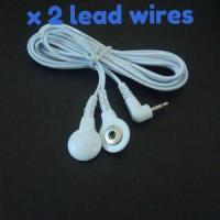 Quality TENS ELECTRODE LEADS WITH A STUD/SNAP CONNECTION for sale