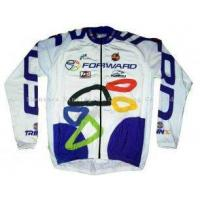 Quality Personalised Breathable Long Sleeve Customized Printed Cycling Jerseys Bicycle Wears for sale