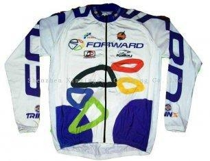Buy Personalised Breathable Long Sleeve Customized Printed Cycling Jerseys Bicycle Wears at wholesale prices