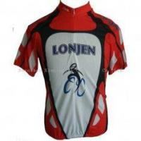 Quality 100% Polyester Fully Sublimated XL / XXL Custom Printed Cycling Jerseys Bike Wear Clothing for sale