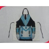 Buy cheap Personalised Polyester Women Protective Custom Printed Aprons for Kitchen from wholesalers