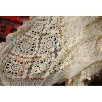 Buy cheap Gorgeous Hand crochet/Bead Cotton Table cloth/Bedspread from Wholesalers