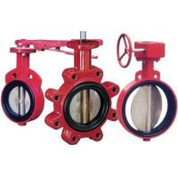Quality PN6~PN16 Wafer Type Soft-Seal Butterfly Valve for sale