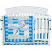 Quality Dr. Seuss Blue Oh! The Places You'll Go 4 Piece Crib Bedding Set for sale
