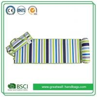 Quality Large Portable Roll Up Padded Beach Mat with Detachable Pillow for sale